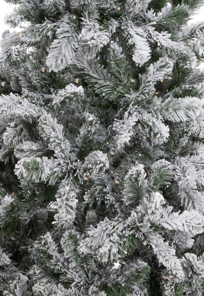 Flock kerstboom