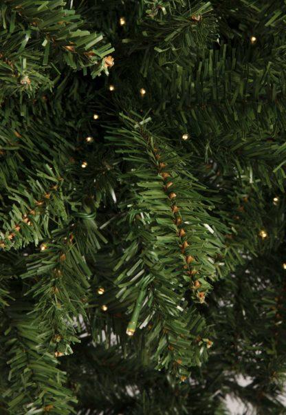 Groene kerstboomtakken