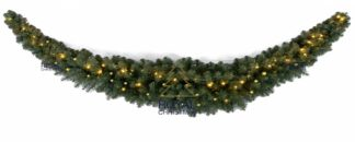 Dakota Swag kerstslinger met verlichting