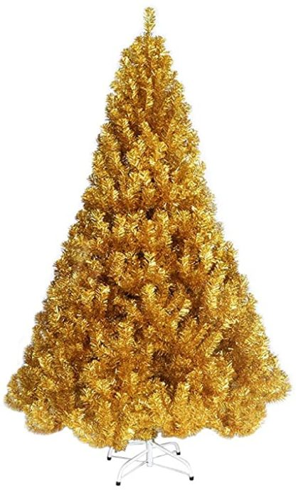 Kunst kerstboom goud
